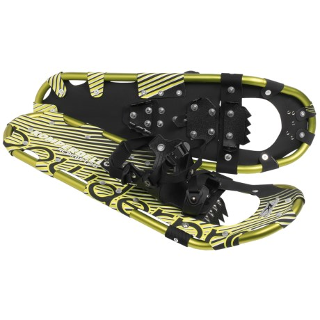 "Komperdell Alpinist Snowshoes - 25"" in Green"