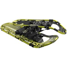 "Komperdell Alpinist Snowshoes - 25"" in Lime Green - Closeouts"