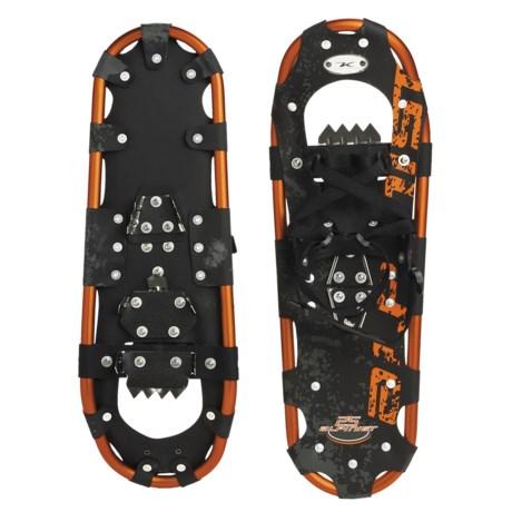 """Komperdell Alpinist Snowshoes - 25"""" in Orange"""