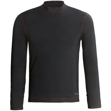 Komperdell BC-Flex Base Layer Top - Long Sleeve (For Men) in Black