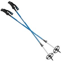 Komperdell BC Trail Power Lock Ski Poles - Adjustable in Blue - Closeouts