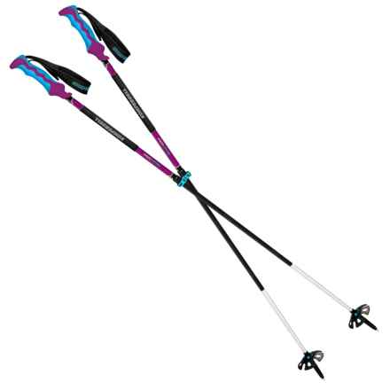 Komperdell Carbon Freeride Descent Adjustable Ski Poles in See Photo - Closeouts