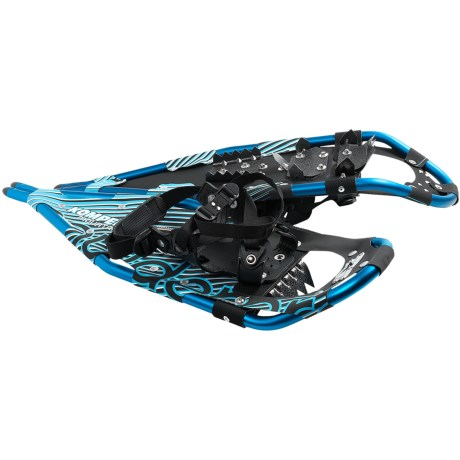 "Komperdell Mountaineer Snowshoes - 27"" in Blue"