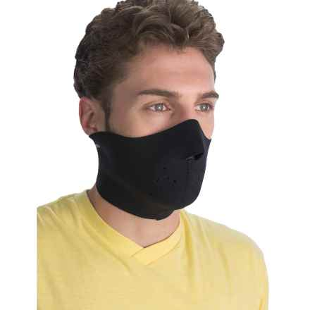 Komperdell Neoprene Face Mask (For Men and Women) in Black - Closeouts