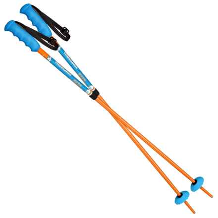 Komperdell Powder Vario Adjustable Ski Poles (For Little and Big Kids) in See Photo - Closeouts