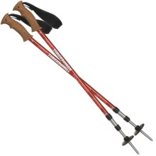 Komperdell Ridgemaster Cork Trekking Poles - Pair in Asst - Closeouts