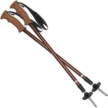Komperdell Summit Cork Adjustable Trekking Poles - Adjustable in Brown - Closeouts