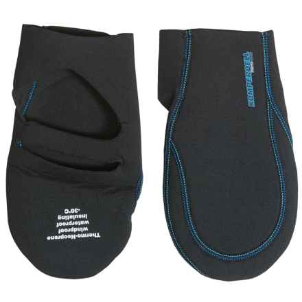 Komperdell Thermo Mittens (For Men and Women) in Black - Closeouts