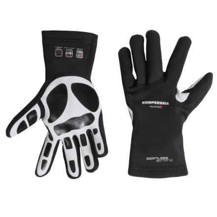 Komperdell Touring Gloves (For Men and Women) in Black - Closeouts