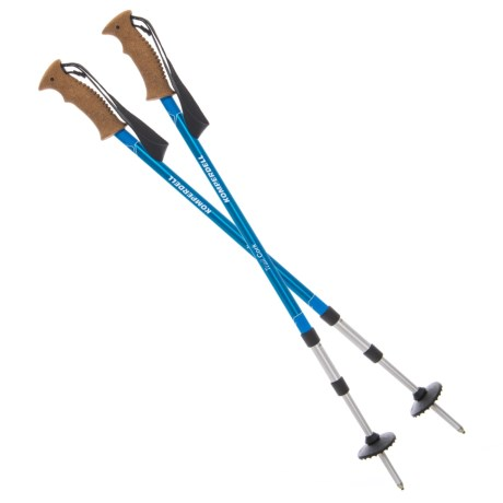 Komperdell Trail Cork Trekking Poles in See Photo