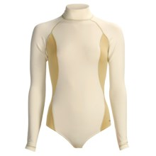 Komperdell XA-10 Thermo Fleece Base Layer Body Suit - Midweight, Long Sleeve (For Women) in Pearl - Closeouts