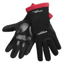 Komperdell XA-10 Thermo Gloves - Waterproof (For Men and Women) in Black/Red - Closeouts