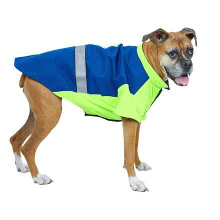 Kong LED Thermal Safety Dog Jacket in Blue - Closeouts