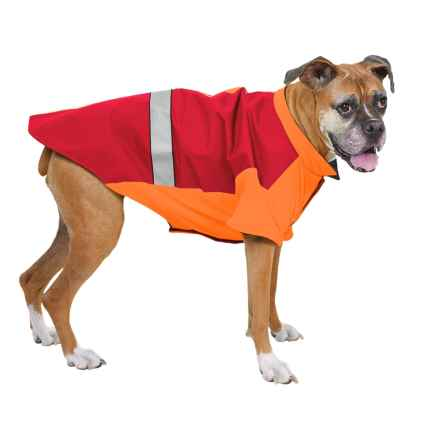 Kong LED Thermal Safety Dog Jacket in Red - Closeouts