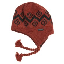 Kootenay Knitting Company Alvsborgs Hat - Merino Wool, Ear Flaps (For Men and Women) in Brick - Closeouts