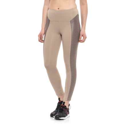 Koral Clementine High-Rise Capris (For Women) in Bisque W/Bordeaux - Closeouts