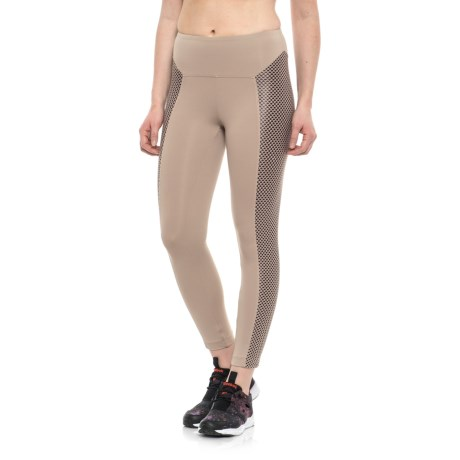 Koral Clementine High-Rise Capris (For Women) in Bisque W/Bordeaux