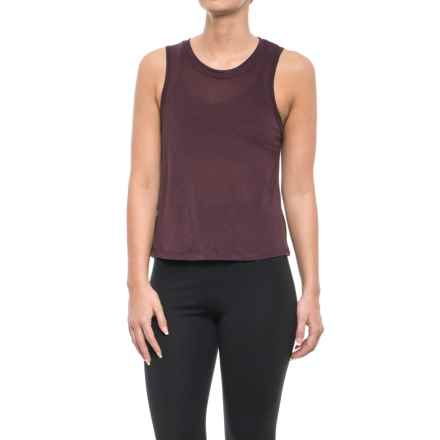 Koral Muscle Tank Top (For Women) in Bordeaux - Closeouts