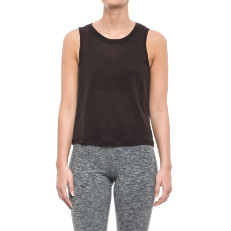 Koral Muscle Tank Top (For Women) in Chocolate