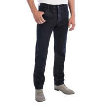 Koral Whiskers Slim-Leg Jeans - Button Fly (For Men) in Wax Coated - Closeouts