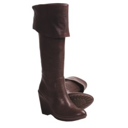 Kork-Ease Adrianne Boots - Leather (For Women) in Red Brown