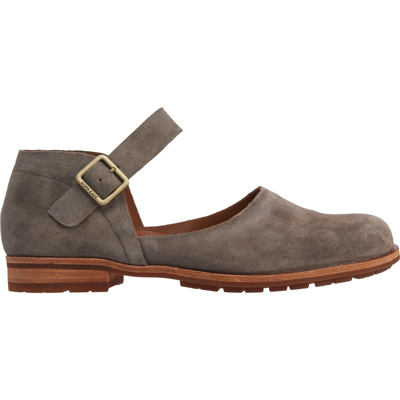 Kork-Ease Grey Bellota Mary Jane Shoes