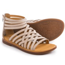 Kork-Ease Palmyra Gladiator Sandals - Leather (For Women) in Vanilla Full Grain - Closeouts