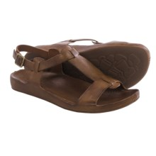 Kork-Ease Ruby Sandals - Leather (For Women) in Brown Full Grain - Closeouts