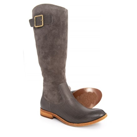 68dadf2c704f0 Kork-Ease Rue Tall Boots - Leather (For Women) in Grey Dark