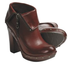Kork-Ease Ryanne Ankle Boots - Leather (For Women) in Rust - Closeouts