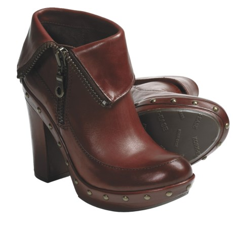 Kork-Ease Ryanne Ankle Boots - Leather (For Women) in Rust