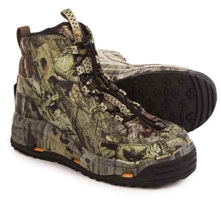 Korkers Ambush Wading Boots - Interchangeable Outsoles (For Men) in Mossy Oak Breakup Infinity - Closeouts