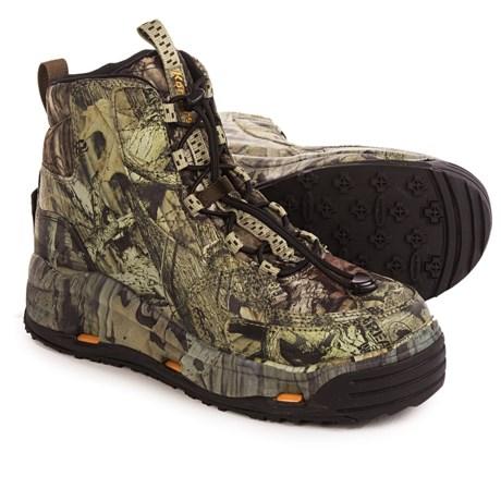 Korkers Ambush Wading Boots - Interchangeable Outsoles (For Men) in Mossy Oak Breakup Infinity