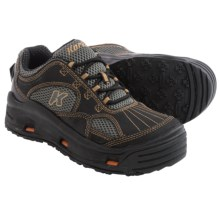 Korkers Boxcar Wading Shoes - Interchangeable Outsoles (For Men) in Brown - Closeouts