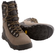 Korkers KGB Wading Boots - Felt Sole, Vibram® Sole (For Men and Women) in Tan/Black - Closeouts