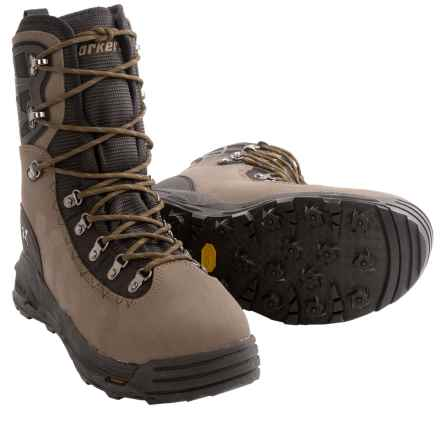 Korkers KGB Wading Boots - Interchangable Outsoles (For Men and Women) in Tan/Black - Closeouts