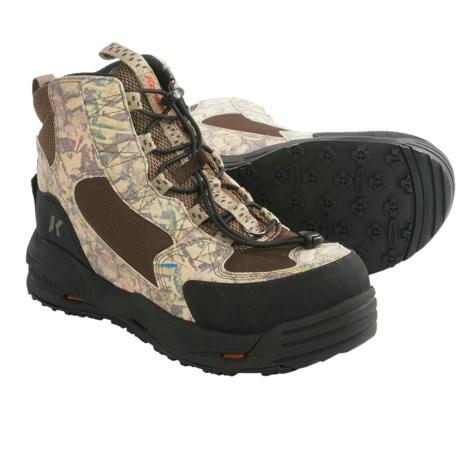Korkers Mudder Ducker Wading Boots - Kling-On Sole, Felt Sole (For Men and Women) in Korkers Kamo