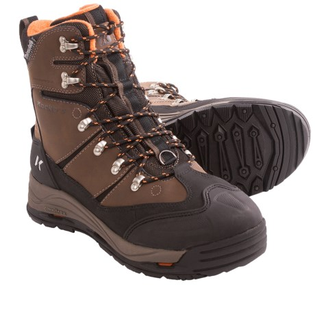Korkers Snowjack Winter Pac Boots - Waterproof, Insulated (For Men) in Chocolate
