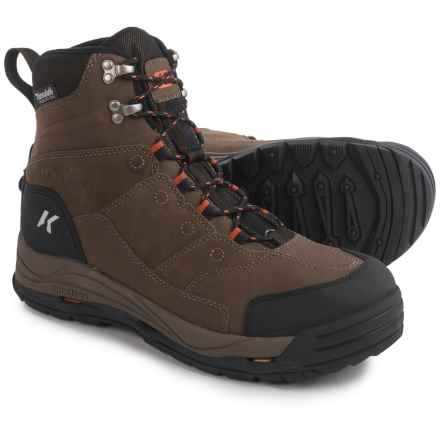 Korkers Stormjack Winter Boots - Waterproof, Insulated (For Men) in Chocolate Chip - Closeouts