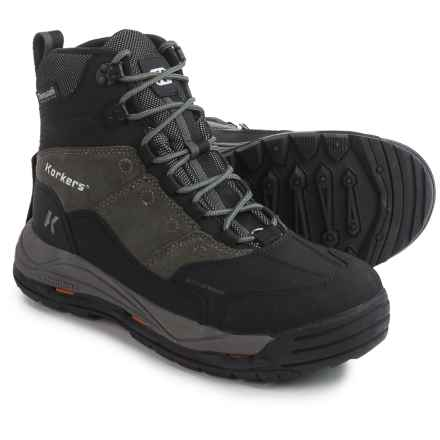 Korkers Stormjack Winter Boots - Waterproof, Insulated (For Men) in Gunmetal - Closeouts