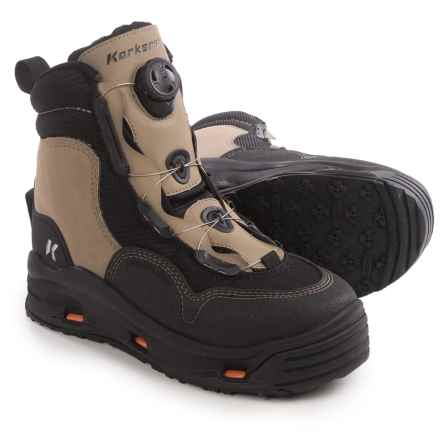 Korkers Whitehorse Wading Boots - Interchangeable Outsoles (For Men) in See Photo - Closeouts