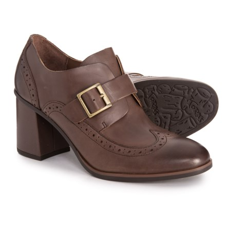 64eb6af7488da Korks Withrow Wingtop Buckle Shoes (For Women) in Dark Brown