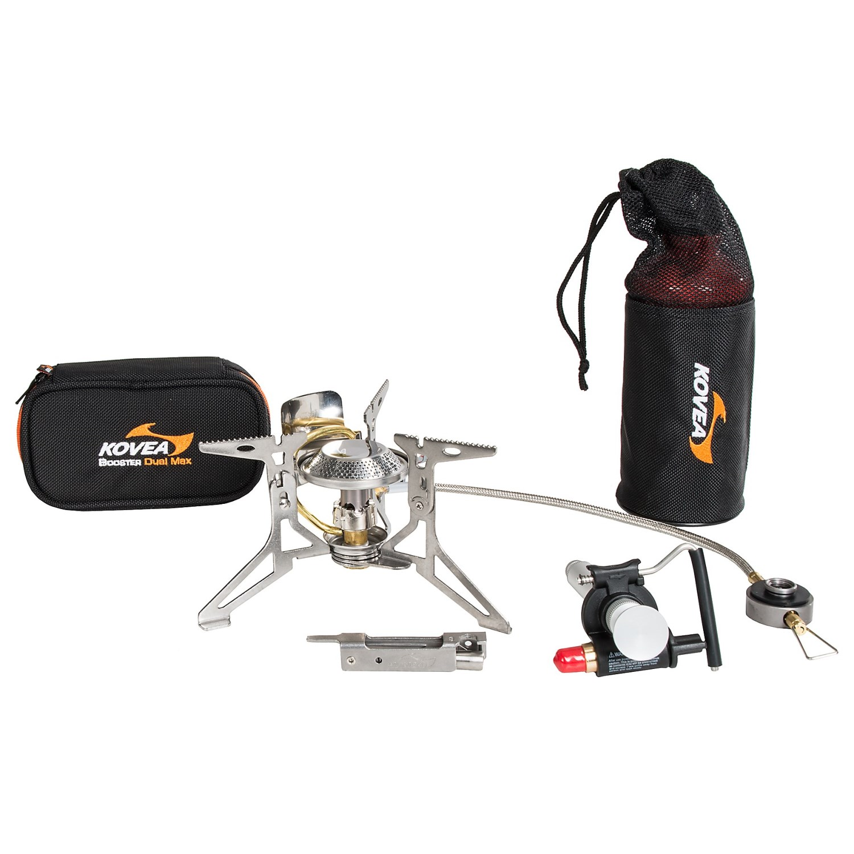 Kovea Booster Dual Max Camping Stove - Isobutane/White Gas - Save 44%