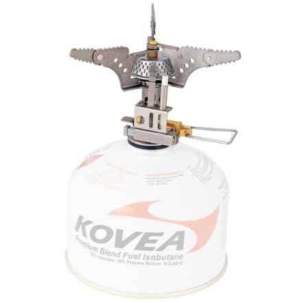 Kovea Titanium Camping Stove - Piezo Ignition, Isobutane in See Photo - Closeouts