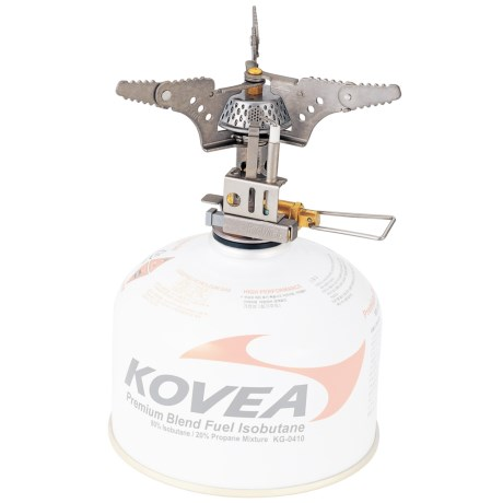 Kovea Titanium Camping Stove - Piezo Ignition, Isobutane in See Photo