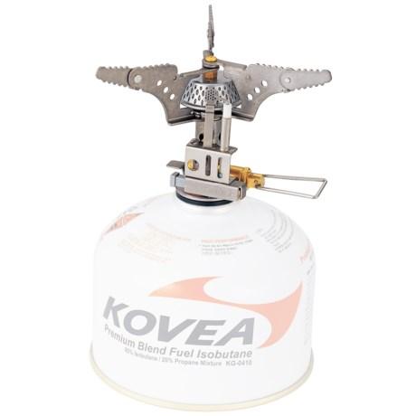 Kovea Titanium Camping Stove - Piezo Ignition, Isobutane
