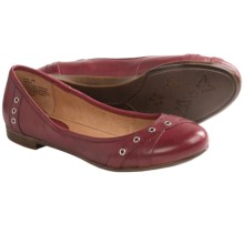 Kravings by Klogs Annie Shoes - Leather, Slip-Ons (For Women) in Red Full Grain - Closeouts