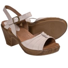 Kravings by Klogs Venice Sandals - Leather (For Women) in Oyster Napa - Closeouts