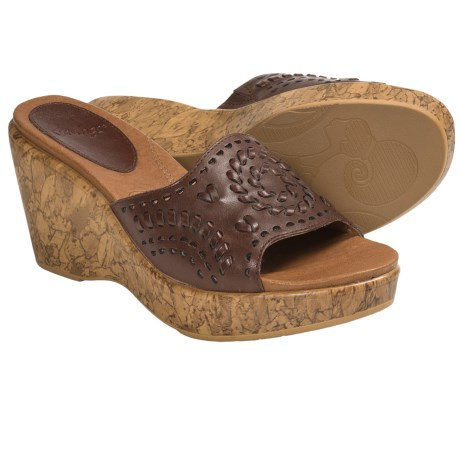 Kravings by Klogs Woodstock Sandals (For Women) in Chestnut Full Grain