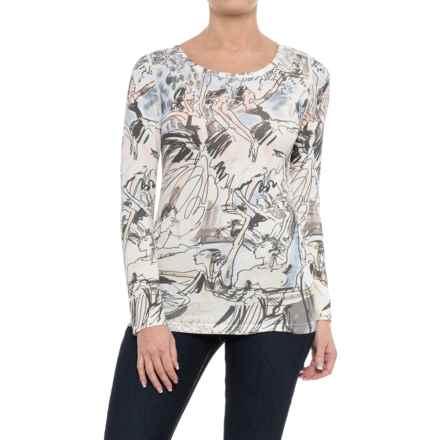 Krimson Klover En Pointe Shirt - Long Sleeve (For Women) in Blush - Closeouts